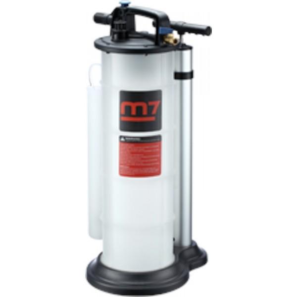 Установка для слива масла с щупами, (ручной+пневмо), 9 л. MIGHTY SEVEN SM-0901M02