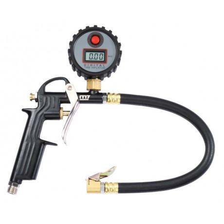 Пистолет для подкачки шин 11 бар, с цифровым манометром MIGHTY SEVEN SB-201