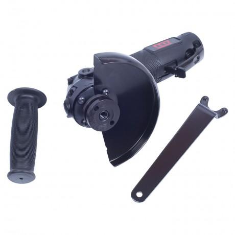 Пневматическая угловая шлифовальная машина (УШМ) 125 мм, 11000 об/мин, с рычажным выключателем MIGHTY SEVEN QB-7115