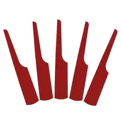 Комплект сменных пилок для лобзиков, 24 зуба, Bi-metal, 10 шт MIGHTY SEVEN QD-924