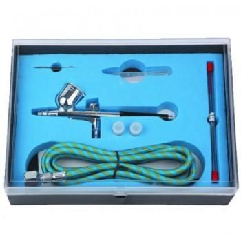 Аэрограф для макияжа и боди-арта №2 (набор с компрессором), TNT