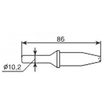 Насадка для клепального молотка TNT АТ-2307B/H